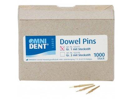 Dowel Piny s trnem vel.1, 1000ks