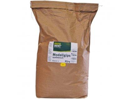 Modelová žlutá sádra syntetická 25kg
