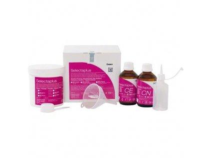 Selectaplus - pryskyřice pro protézy, standardní balení, růžová žilkovaná