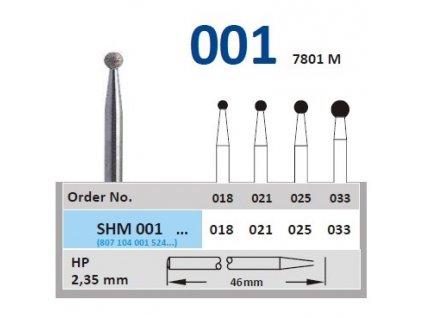 63108 sintrovany diamant kulicka shm001 prumer 2 5mm zrnitost normal