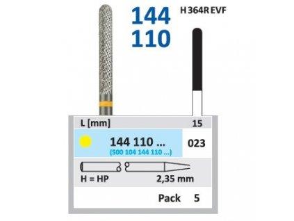 8676 tvrdokovova freza cylindr zakulaceny 144110 prumer 2 3mm
