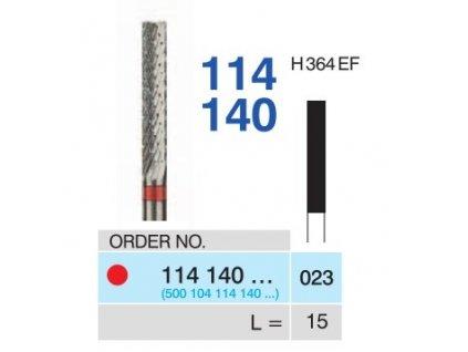 1800 tvrdokovova freza cylindr 114140 prumer 2 3mm