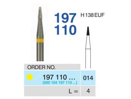 15348 tvrdokovova freza konus zakulaceny 197110 prumer 1 4mm