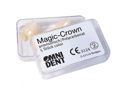 OMNI Magic Crown - provizorní korunky z polykarbonátu č.34