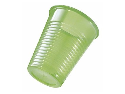 Omnicup PP - výplachové kelímky, 1500ks fresh zelené