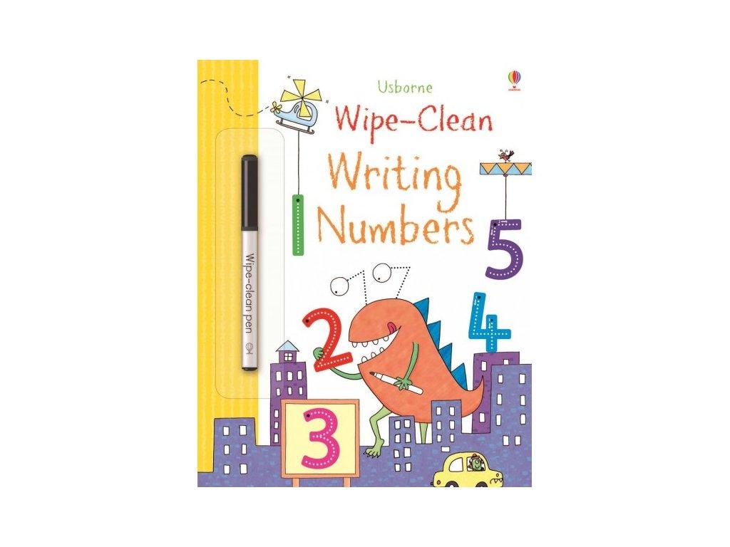 Usborne Wipe-Clean Writing Numbers