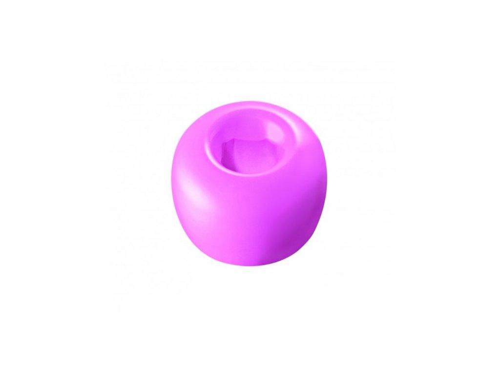 Curaprox stojánek na kartáček růžový