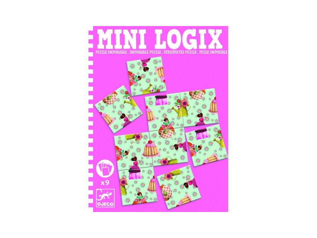 DJECO mini logix princeznovské puzzle