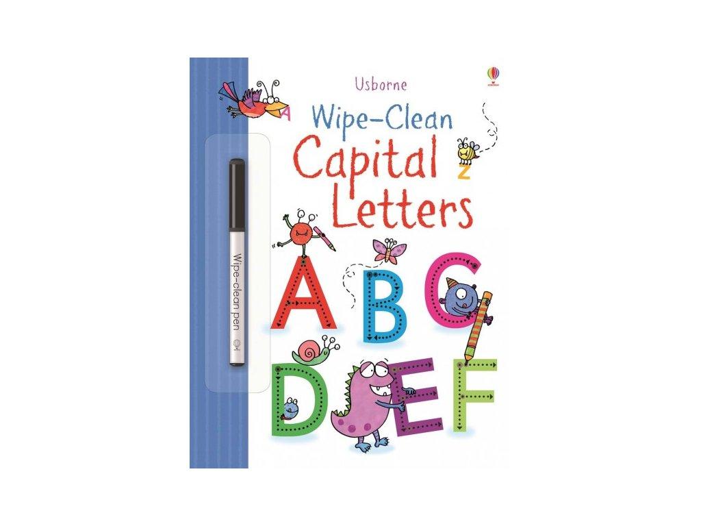 Usborne Wipe-Clean Capital Letters