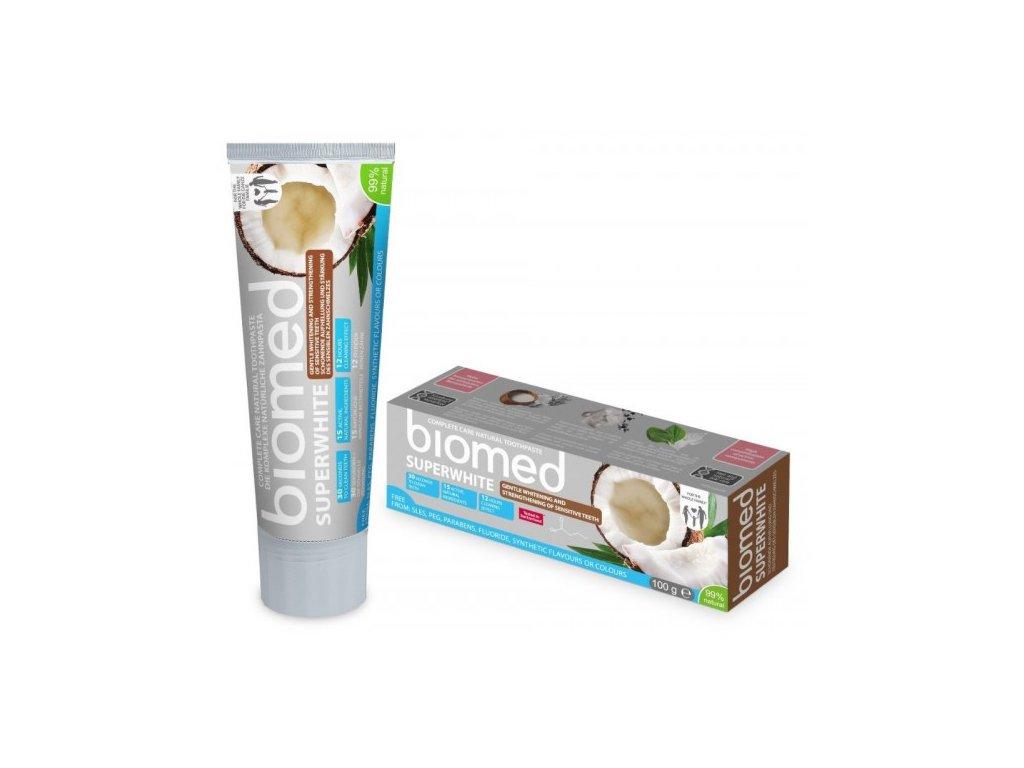Biomed Superwhite přírodní zubní pasta 100g