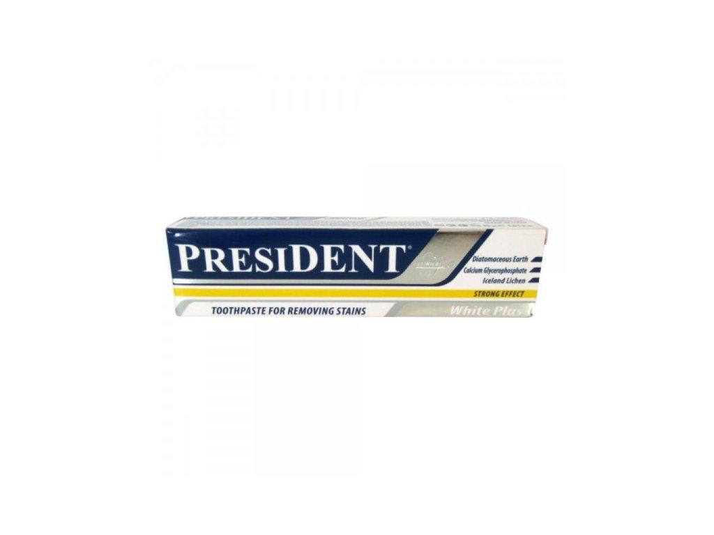 EXPIRACE 04/21! PresiDENT White Plus intenzivní gel bělící 50 ml