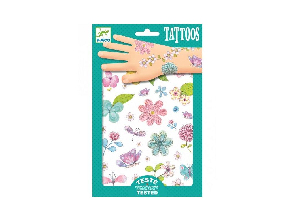 DJECO tetování květiny
