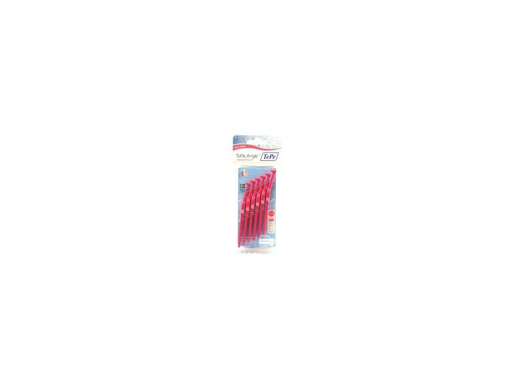Mezizubní kartáček TePe Angle 0,4 mm, 6 ks baleno v blistru