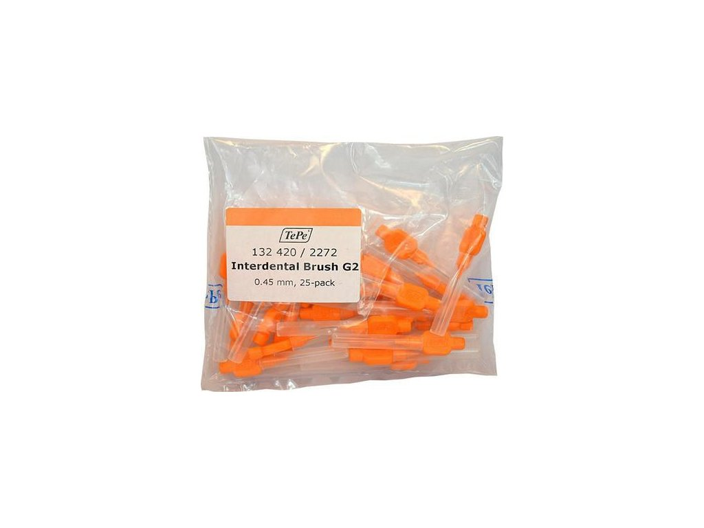 TePe mezizubní kartáčky Original G2 0,45 mm oranžové 25 ks