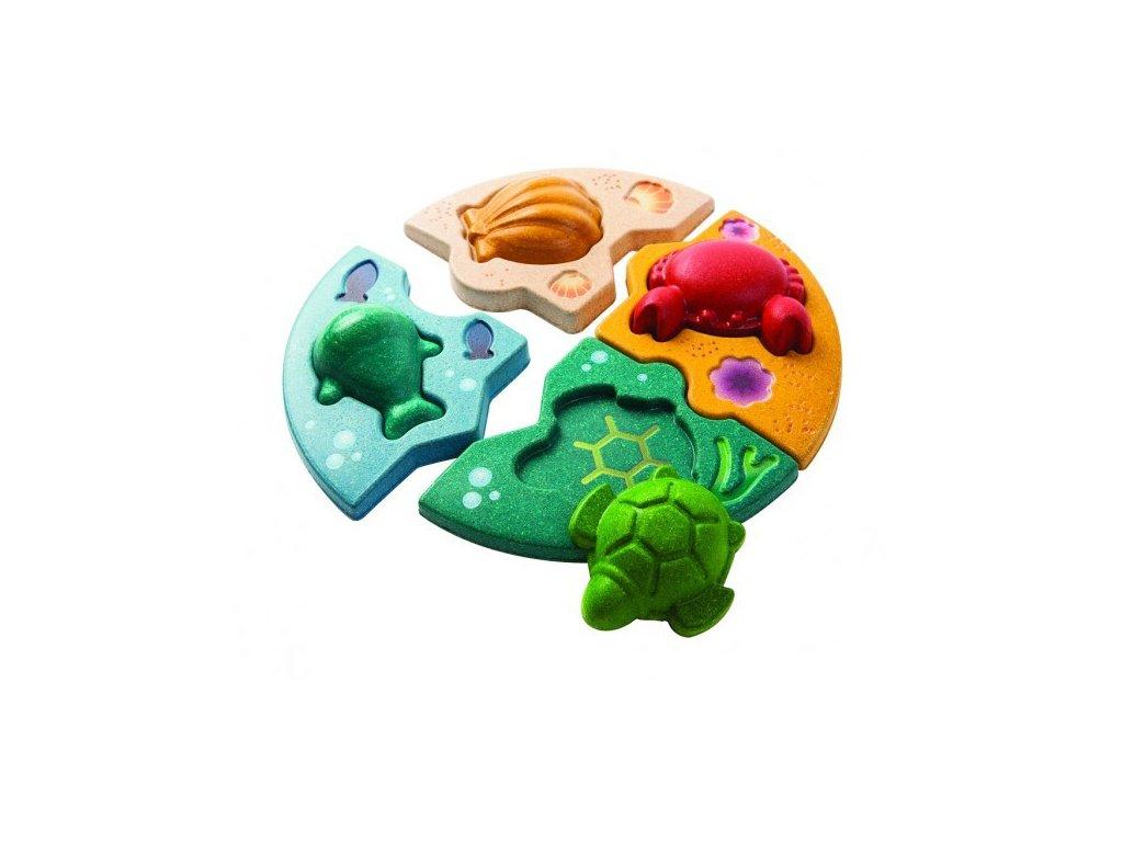 Puzzle - Mořský život