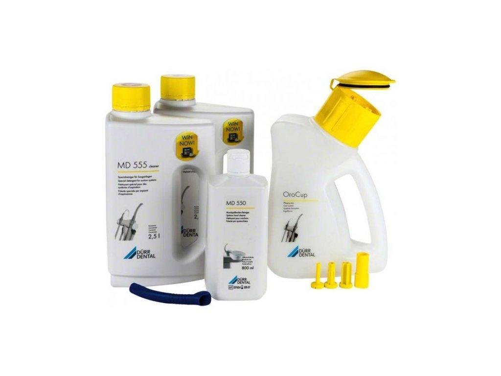 Orotol plus basic set (1x2,5 l Orotol Plus, 1x2,5 l MD 555, 1x750 ml MD 550, 1x OroCup)