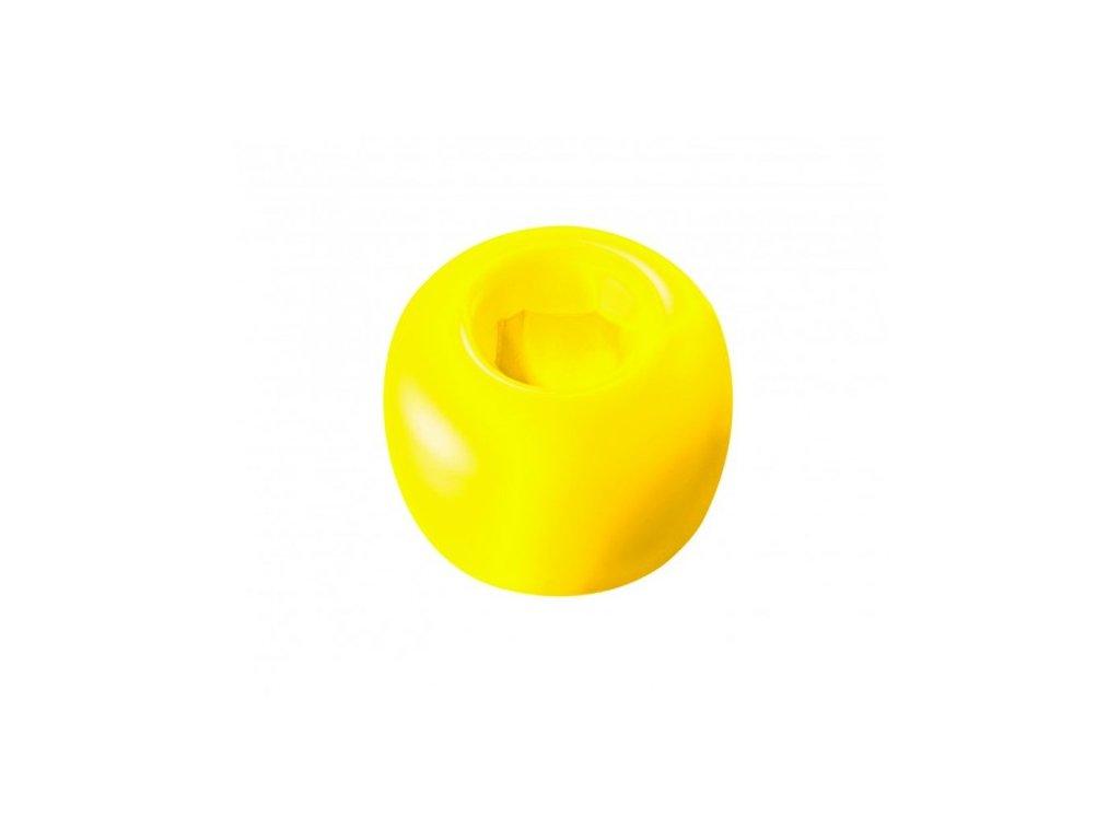 Curaprox stojánek na kartáček žlutý