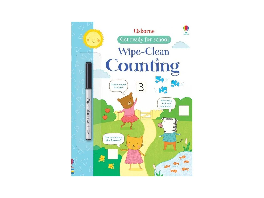 Usborne Wipe-Clean Counting