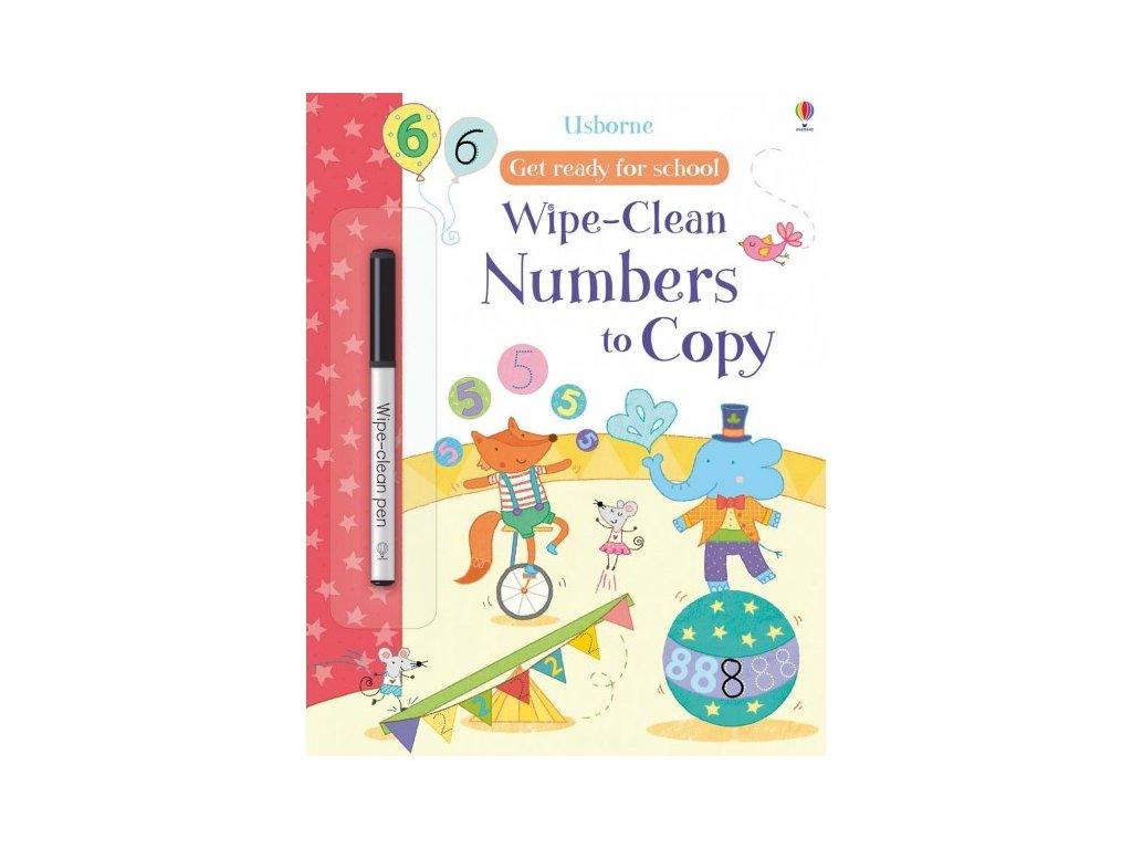 Usborne Wipe-Clean Numbers to Copy