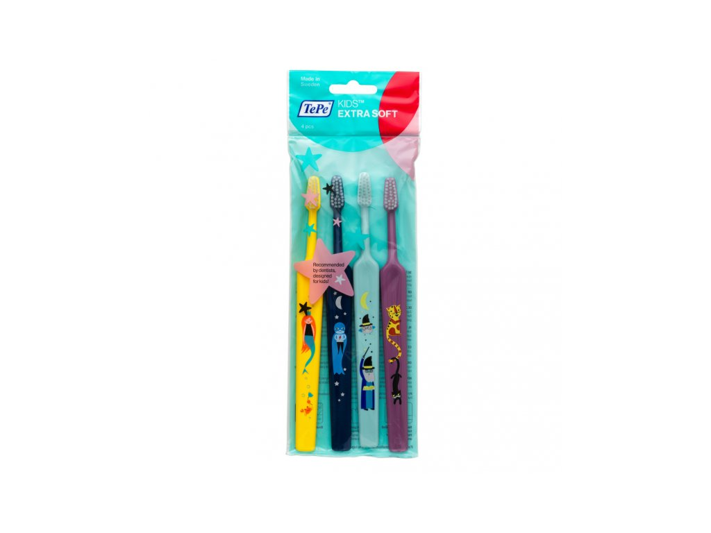TePe Select ZOO (KIDS) Compact x-soft 3+1 (4 ks)