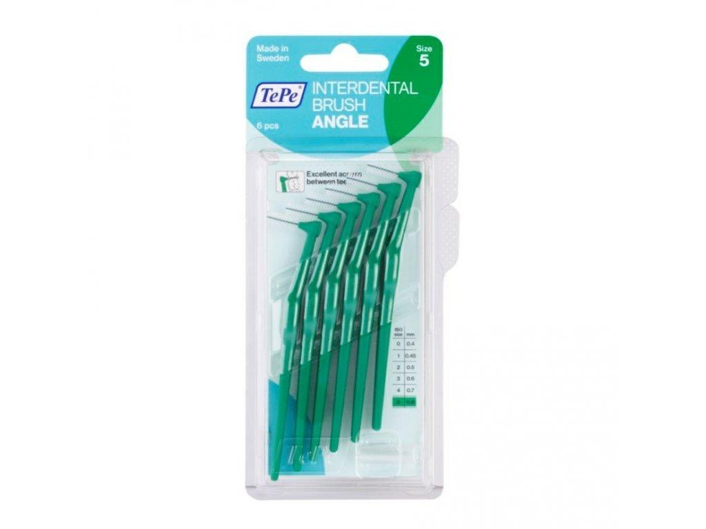 Mezizubní kartáček TePe Angle 0,8 mm, 6 ks baleno v blistru