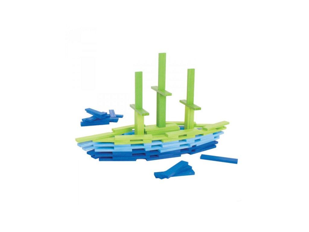 Bigjigs hrací desky Moře 100 dílů