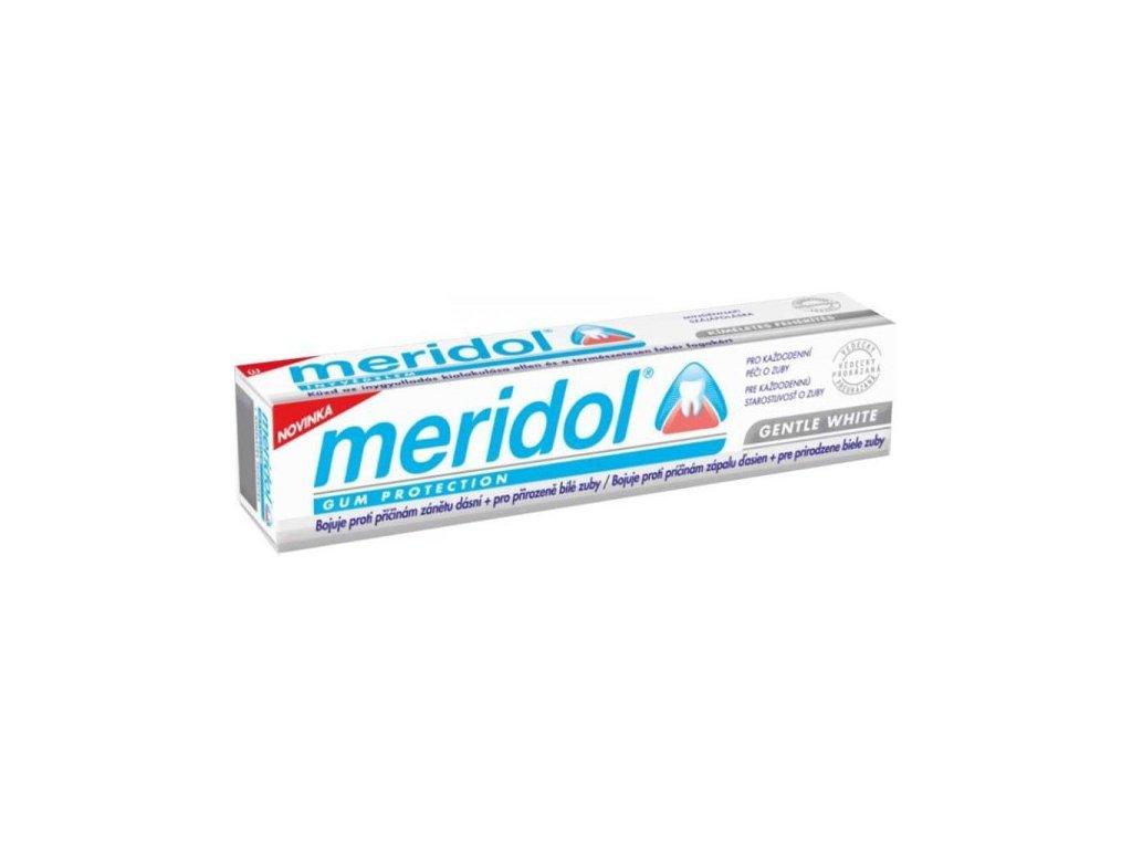 Zubní pasta Meridol Gentle White 75 ml