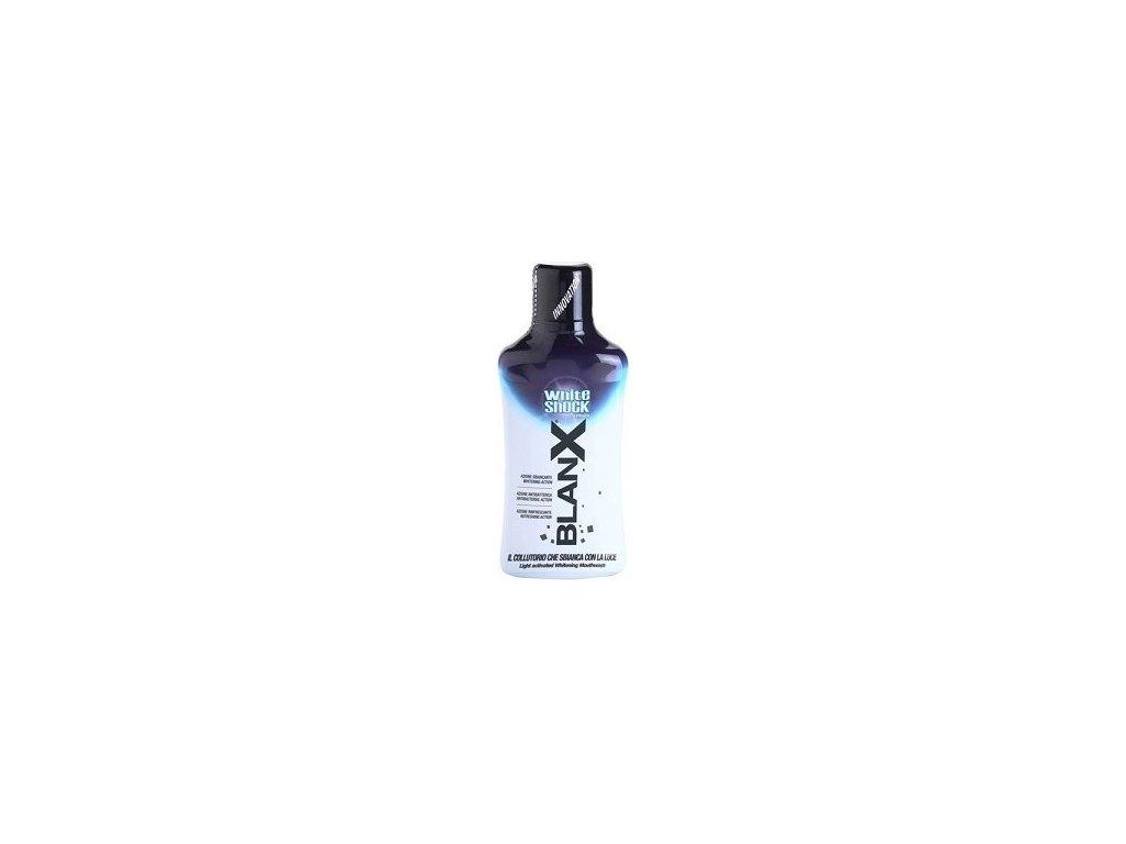 BlanX White Shock světlem aktivovaná bělící ústní voda, 500 ml