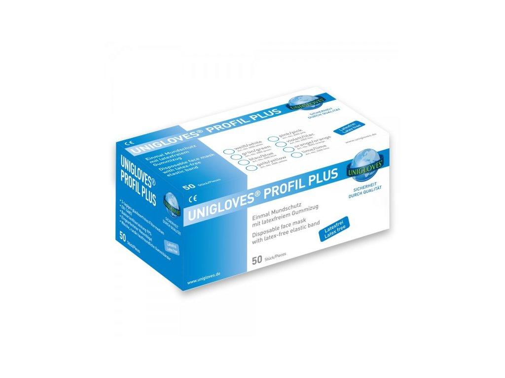 Ústenky roušky Profil Plus Unigloves 50 kusů modré