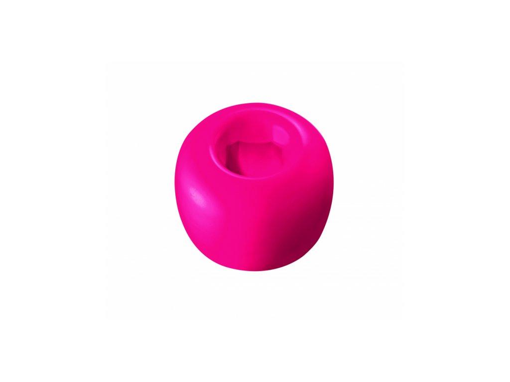 Curaprox stojánek na kartáček tmavě růžový