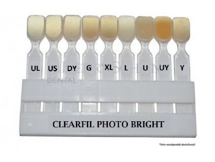 clearfil photo bright shade guide 4