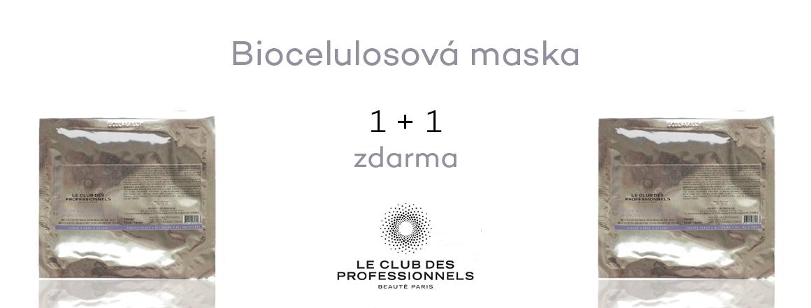 Akce biocelulosová maska 1+ 1