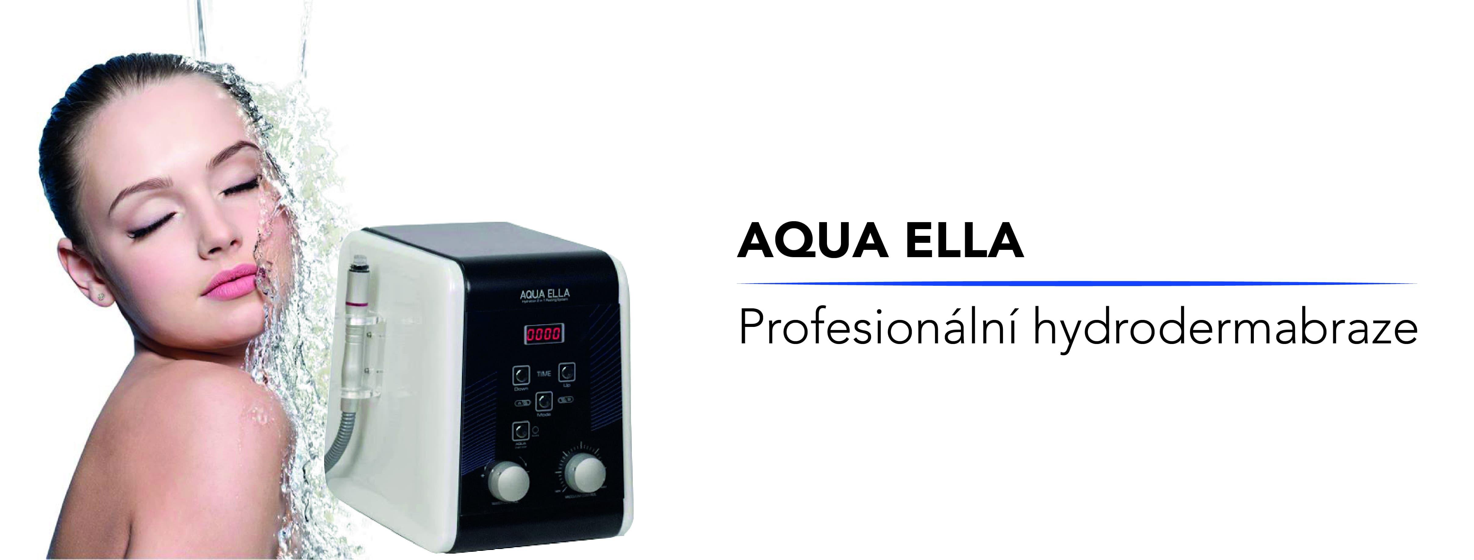 AQUA ELLA - profesionální hydrodermabraze