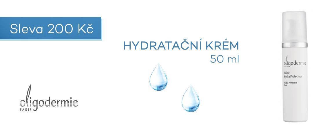 Hydratační krém Oligodermie sleva 200 Kč