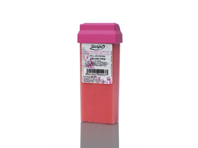 Starpil depilační vosk krémový růžový 110 g