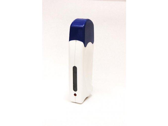 Depilační ohřívač MONO bez stojanu bílý s modrým víčkem
