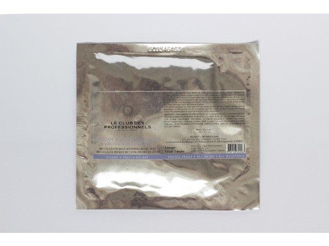 1617 1 le club des professionnels biocelulosova maska s kyselinou hyaluronovou 1 ks