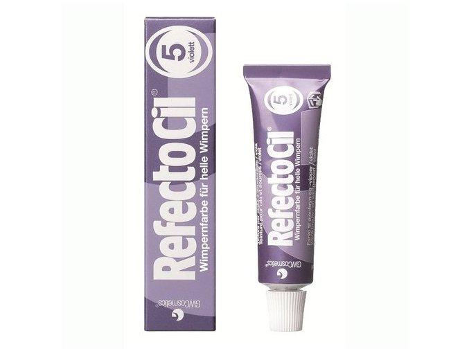 RefectoCil barva na řasy a obočí fialová 15 ml