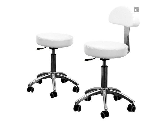 Kosmetická židle s opěradlem