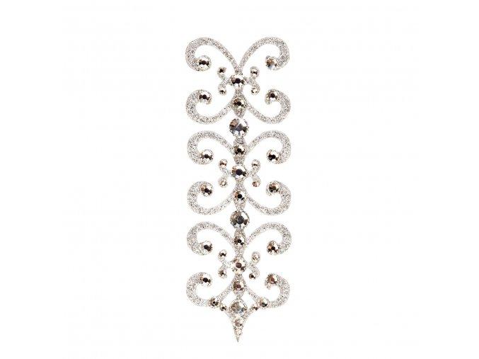 SO.nia Nalepovací šperk Florescence Silver