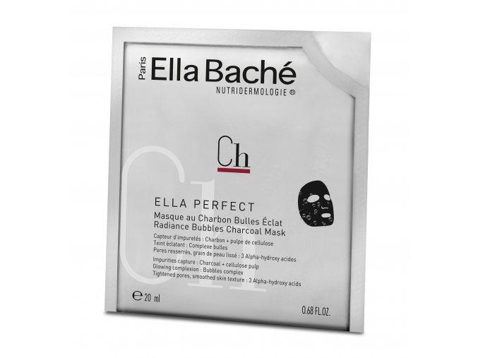 Pochette Masque au Charbon Bulles Eclat