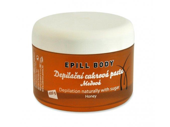 Epill Body Depilační cukrová pasta medová 400 g