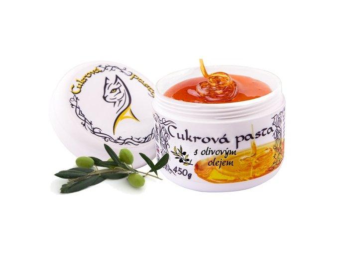 Cukrová pasta Al Attuta s olivovým olejem 450 g