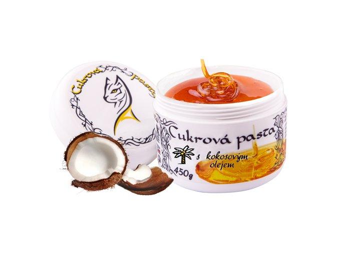 Cukrová pasta Al Attuta s kokosovým olejem 450 g