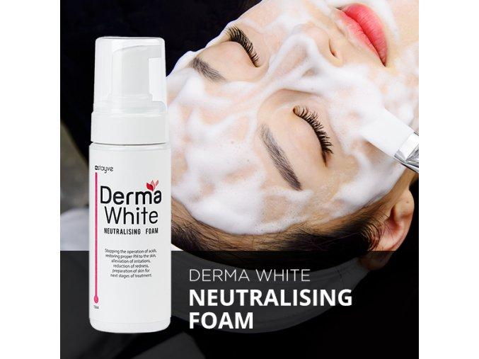 derma white neutralizacni pena