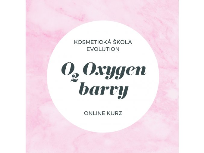 Oxygen online kurz Kreslicí plátno 1