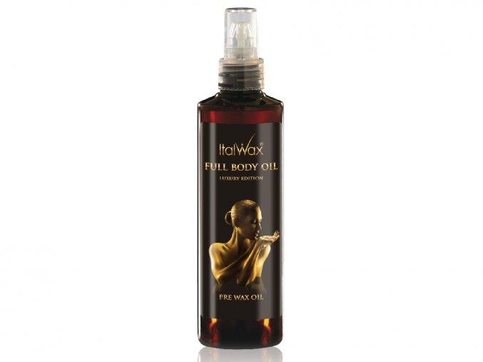 italwax olej preddepilacni a podepilacni full body 250 ml
