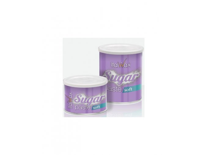 italwax pasta cukrova v plechovce soft 800 ml 1200g