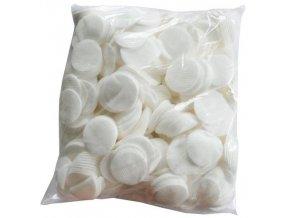 Ekonomické balení vatových kosmetických tamponů 550 ks