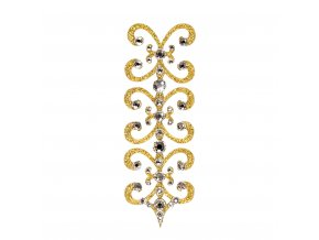 Florence 1 Gold Crystal kaminky